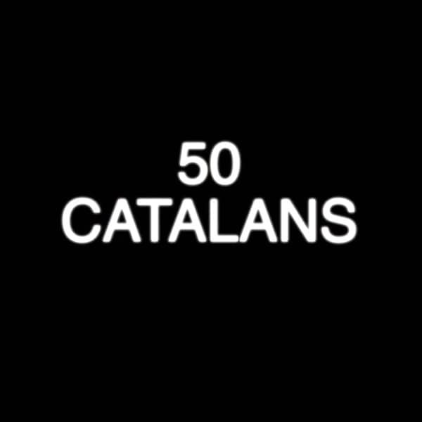 photo of words 50 Catalans from Catalunya Barcelona trailer
