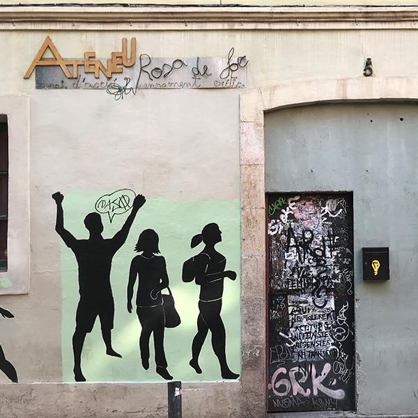 Catalunya Barcelona photo of Ateneu in Gracia neighborhood