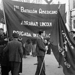 catalunya barcelona international brigade photo.