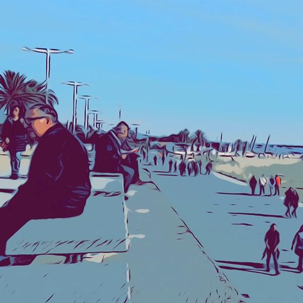 Catalunya Barcelona image of Barcelona seaside