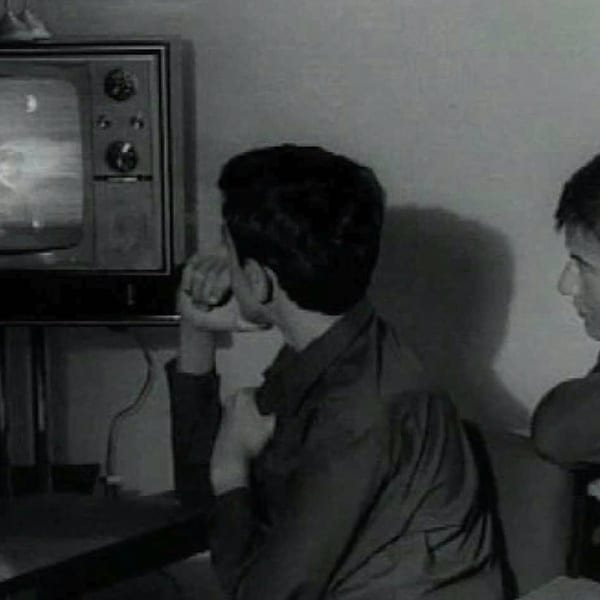 Catalunya Barcelona photo of kids watching television a long time ago
