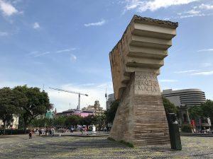 Monument in memory of Catalan President Francesc Macià