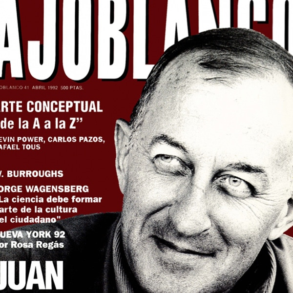 Cover of magazine Ajoblanco for Catalunya Barcelona documentary series