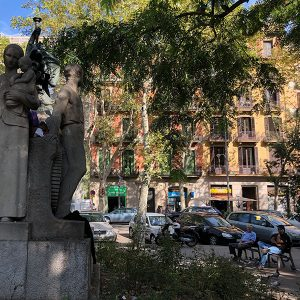 Barcelona's Plaça Goya