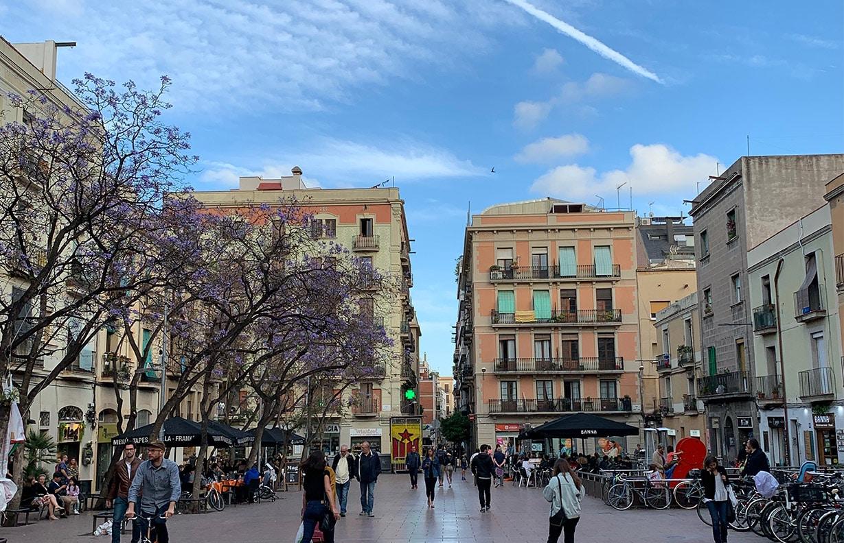 Barcelona's Plaça de la Revolució de Setembre del 1868