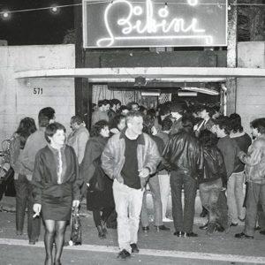 Photo of Bikini Club from the 1980s for Catalunya Barcelona film