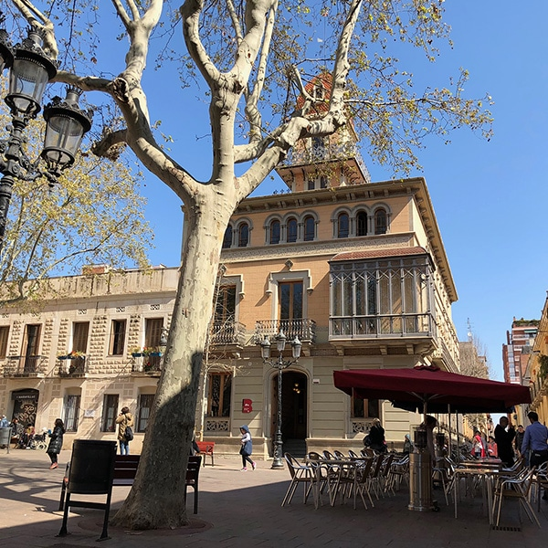 catalunya barcelona photo of Plaça Concordia in Barcelona