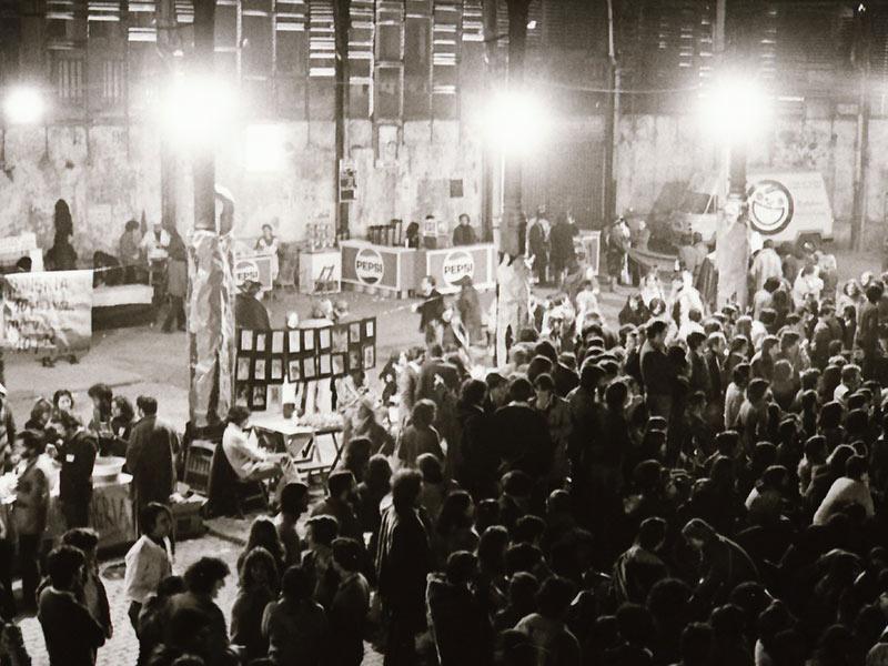 1984 - Rock performance in Barcelona
