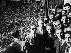1931 - Proclomation of Republic. Lluis Companys on hand