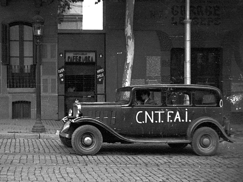 1937 - Autos operated by the CNT FAI.