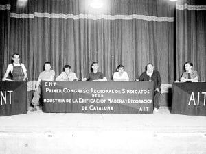 1937 - CNT FAI Building, Wood, and Decoration Trade Union