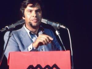 1976 - PSOE leader Felipe González