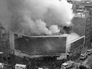 1978 - Fire at the Scala party hall.