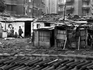 1979 - Shack homes in the Verneda neighborhood.