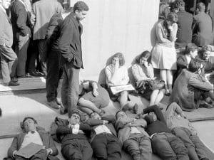 1966 - Caputxinada. Student Democractic Union of the University of Barcelona.