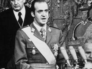 1981 - King Juan Carlos I addresses the coup attempt by Tejero.