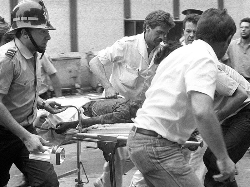 1987 - The hipercor bombing of Barcelona by ETA.