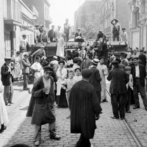 19th century riot in Barcelona