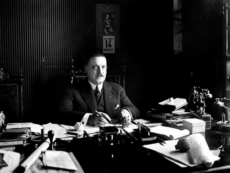 1921 - Severiano Martínez Anido, civil governor of Barcelona.