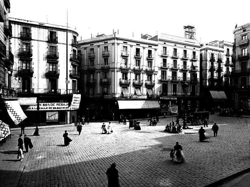 1908 - Plaça de l'Àngel.