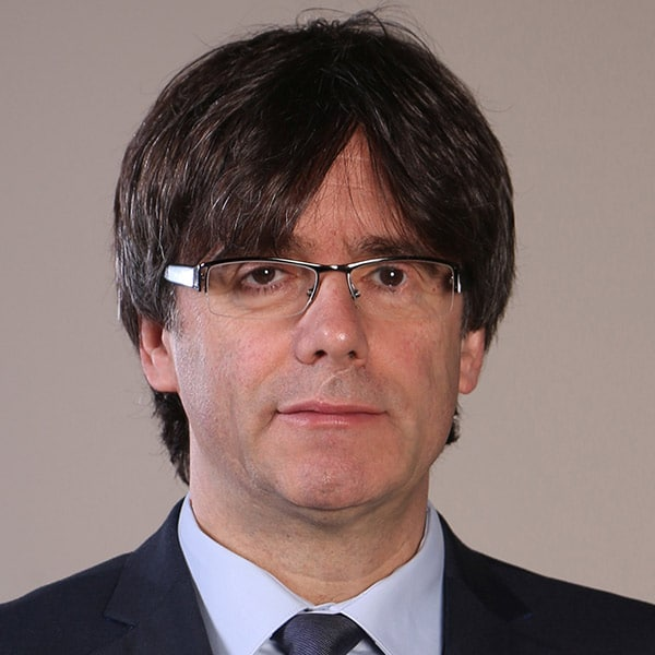 Carles Puigdemont official photo